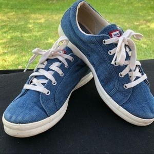 Keds Sneakers Denim Lace Up Shoes 7.5